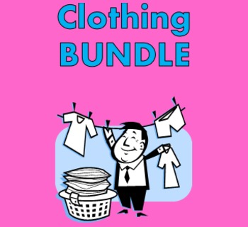 Vêtements (Clothing in French) Bundle