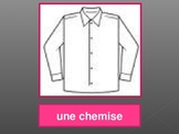 Vêtements, Numéros, Couleurs (Clothing, Numbers, Colors in French) PowerPoint