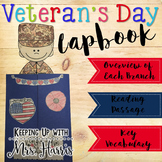 Veterans Day Activities - Lapbook