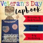 Veterans Day Activities - Lapbook