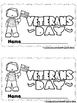 Veteran's Day  (A sight Word Emergent Reader and Teacher L
