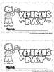 Veteran's Day  (A sight Word Emergent Reader and Teacher L