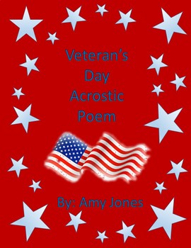 Veteran's Day Acrostic Poem