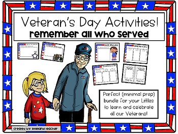 Veteran's Day Activities!