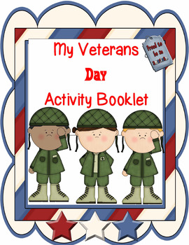 Veteran's Day Activity Booklet