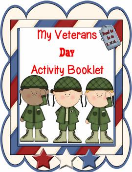 Veteran's Day Activity Booklet