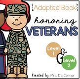 Veteran's Day Adapted Book [Level 1 and Level 2] | Armisti