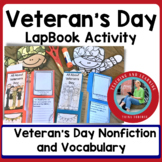 Veteran's Day {All About Veteran's Day Lap Book }
