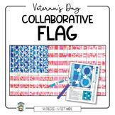 Veteran's Day Activity: Collaborative Flag Poster