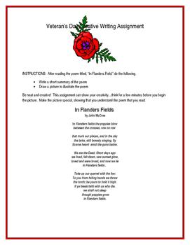Veteran's Day Assignment