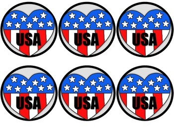Veterans Day Badges/Coloring Pages