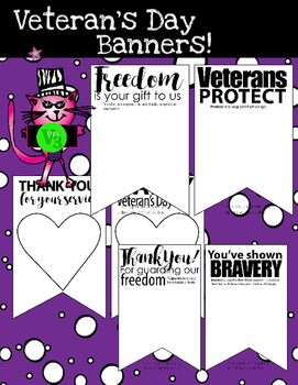 Veteran's Day Banner Freebie