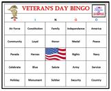 Veteran's Day Bingo Game-Fun and Easy Patriotic Activity (
