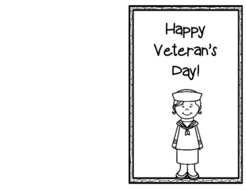 Veteran's Day Card {Freebie}