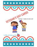 Veteran's Day Cards!