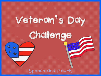 Veteran's Day Challenge FREEBIE