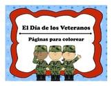 Veteran's Day Coloring Pages - El Dia de los Veteranos: Paginas para colorear