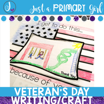 Veteran's Day Craft and Writing