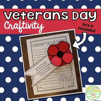 Veterans Day Craftivity FREEBIE