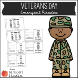 Veteran's Day Emergent Reader!