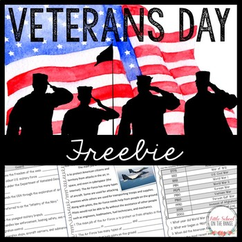 Veteran's Day FREEBIE - Branches of the Military