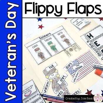 Veteran's Day Activities Interactive Notebook Lapbook