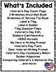 Veteran's Day Flippy Flaps Interactive Notebook Lapbook