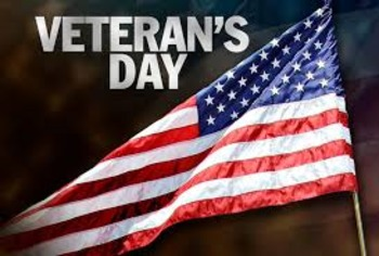 Veteran's Day *Freebie for the S. Board