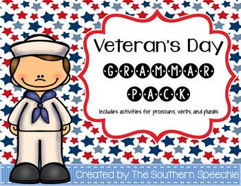 Veteran's Day Grammar Pack