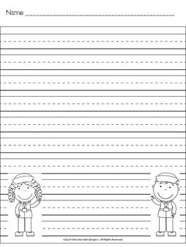 Veteran's Day Handwriting Paper