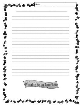 Patriotic I Am Poem 4-8 CCSS Descriptive Writing for September 11th