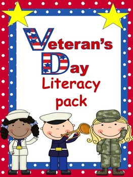 Veteran's Day Literacy Pack