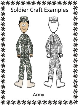 Veteran's Day, Literacy Writing Craft, Our United States Soldiers