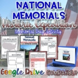 National Memorials-Memorial Day Activity {Digital AND Paper}