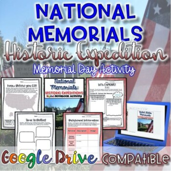 National Memorials-Memorial Day Activity {Digital AND Paper}