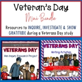 Veterans Day Mini Bundle for Inquiry Research and Writing