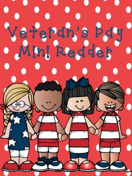 Veteran's Day Mini Reader