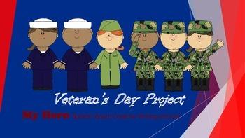 "Veteran's Day ""My Hero"" Project"