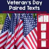 Veteran's Day Reading Passages and Activities