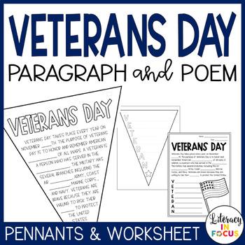 Veteran's Day Pennant Flags