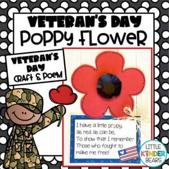 Veteran S Day Poppy Flower Craft And Poem Of Remembrance By Little