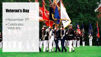 Veteran's Day PowerPoint [grades 3-8]