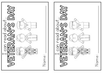 Veteran's Day Printables