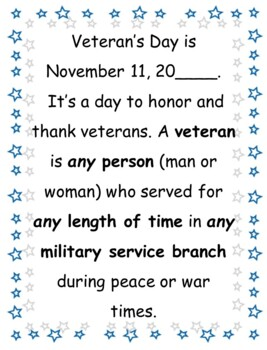 Veteran's Day: Branches of the Military