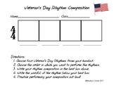 Veteran's Day Rhythm Composition