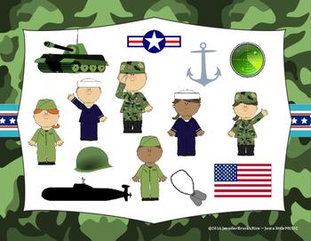 Veteran's Day Rhythms - Interactive Reading Practice Game {ta titi}