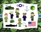 Veteran's Day Rhythms - Interactive Reading Practice Game {ti tom}