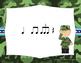 Veteran's Day Rhythms - Interactive Reading Practice Game {triple ti}