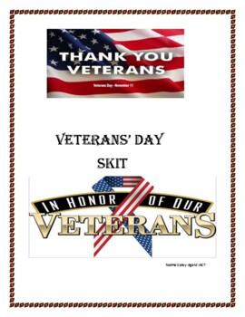 Veteran's Day Skit