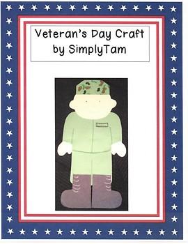 Veteran's Day Soldier Craft